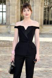 Dakota Johnson Style - Christian Dior Fashion Show in Paris, March 2015