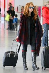 Debbie Ryan Style - at LAX Airport, March 2015