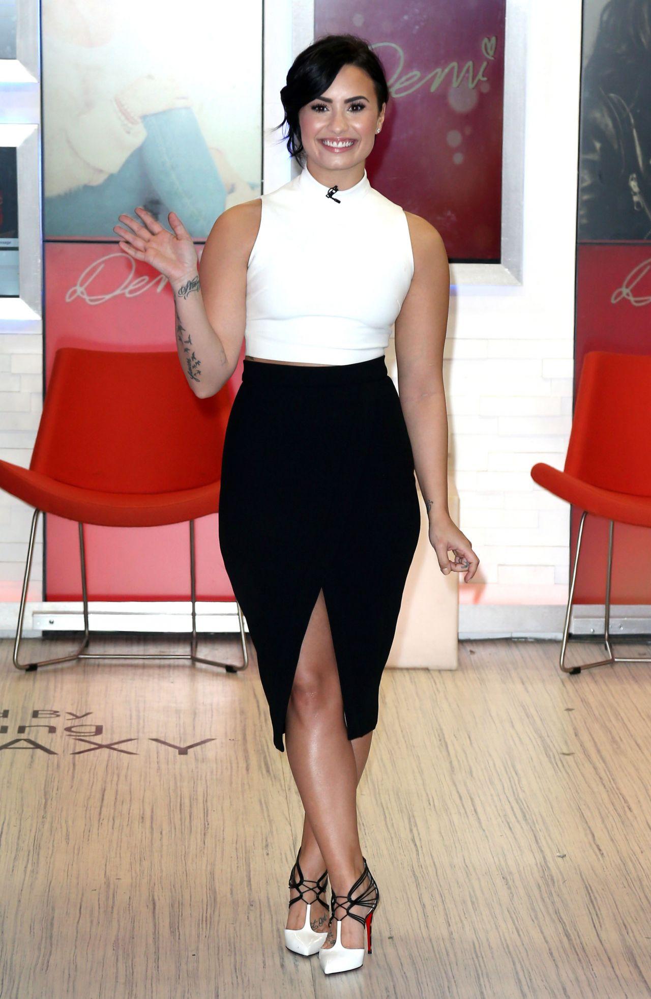 Demi Lovato - 'Good Morning America' in New York City ...