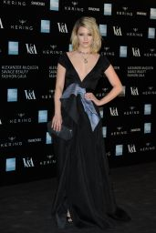 Dianna Agron - Alexander McQueen: Savage Beauty Exhibition in London - March 2015