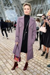 Dianna Agron – Louis Vuitton Fashion Show in Paris, March 2015