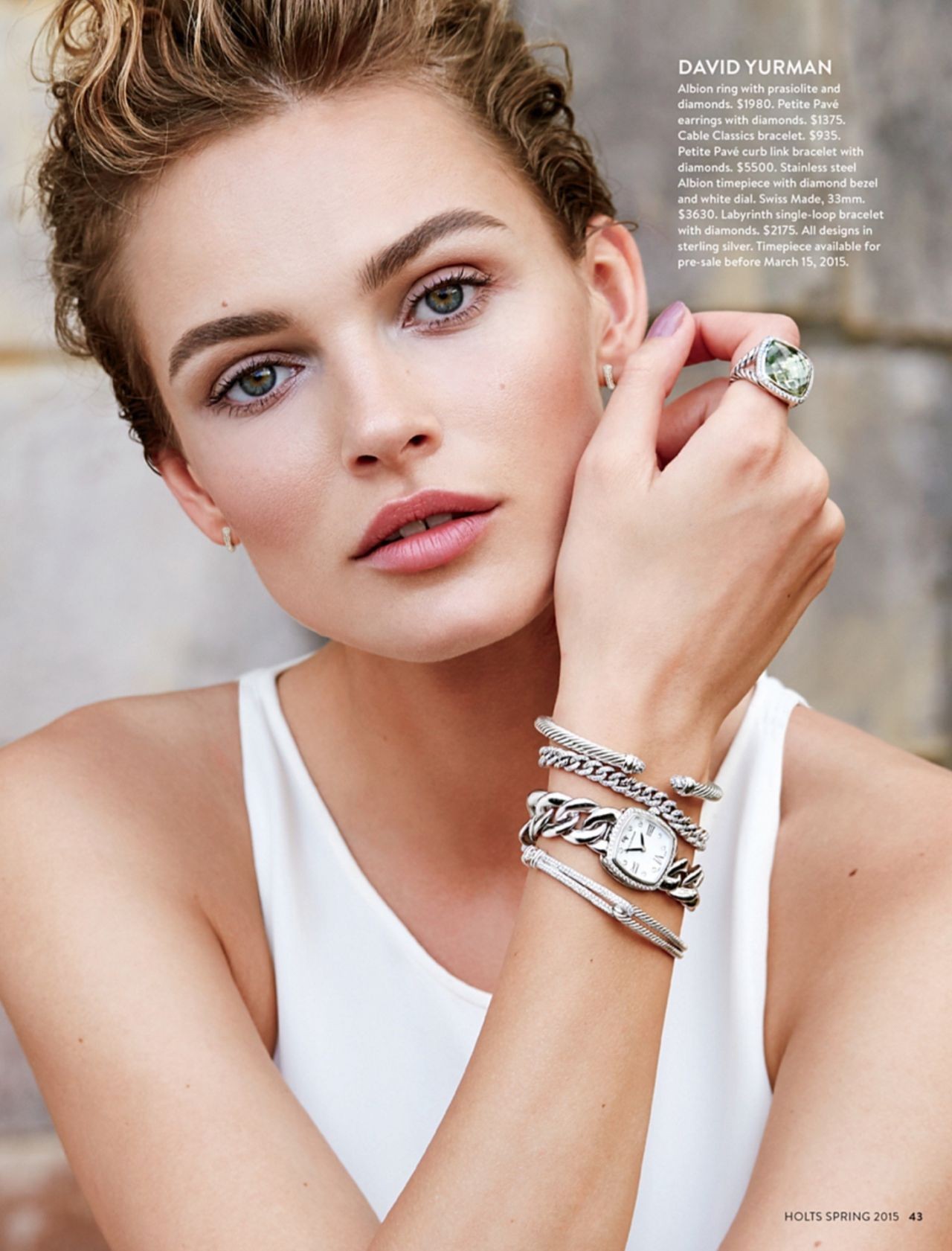 Edita Vilkeviciute - Holts Magazine Spring 2015 Issue