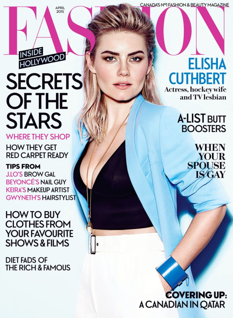 Fashion Magazines Look To Familiar Faces For Cover Models: Elisha Cuthbert Latest Photos