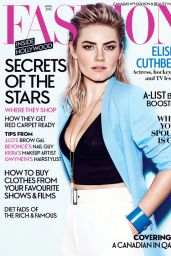 Elisha Cuthbert - Fashion Magazine April 2015 Cover and Photo