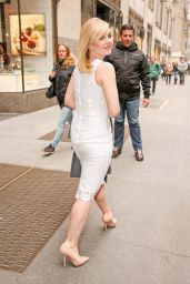 Elisha Cuthbert Style - Leaving NBC Studios in New York City, March 2015