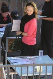 Eliza Dushku Casual Style - Out to Lunch in Los Angeles, March 2015