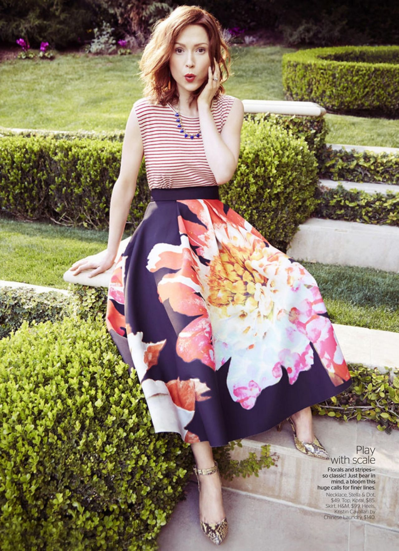 Ellie Kemper - Redbook Magazine April 2015 Issue