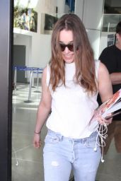 Emilia Clarke at LAX Airport, March 2015