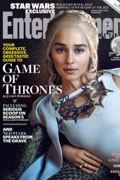 Emilia Clarke - Entertainment Weekly Magazine March 2015 Issue