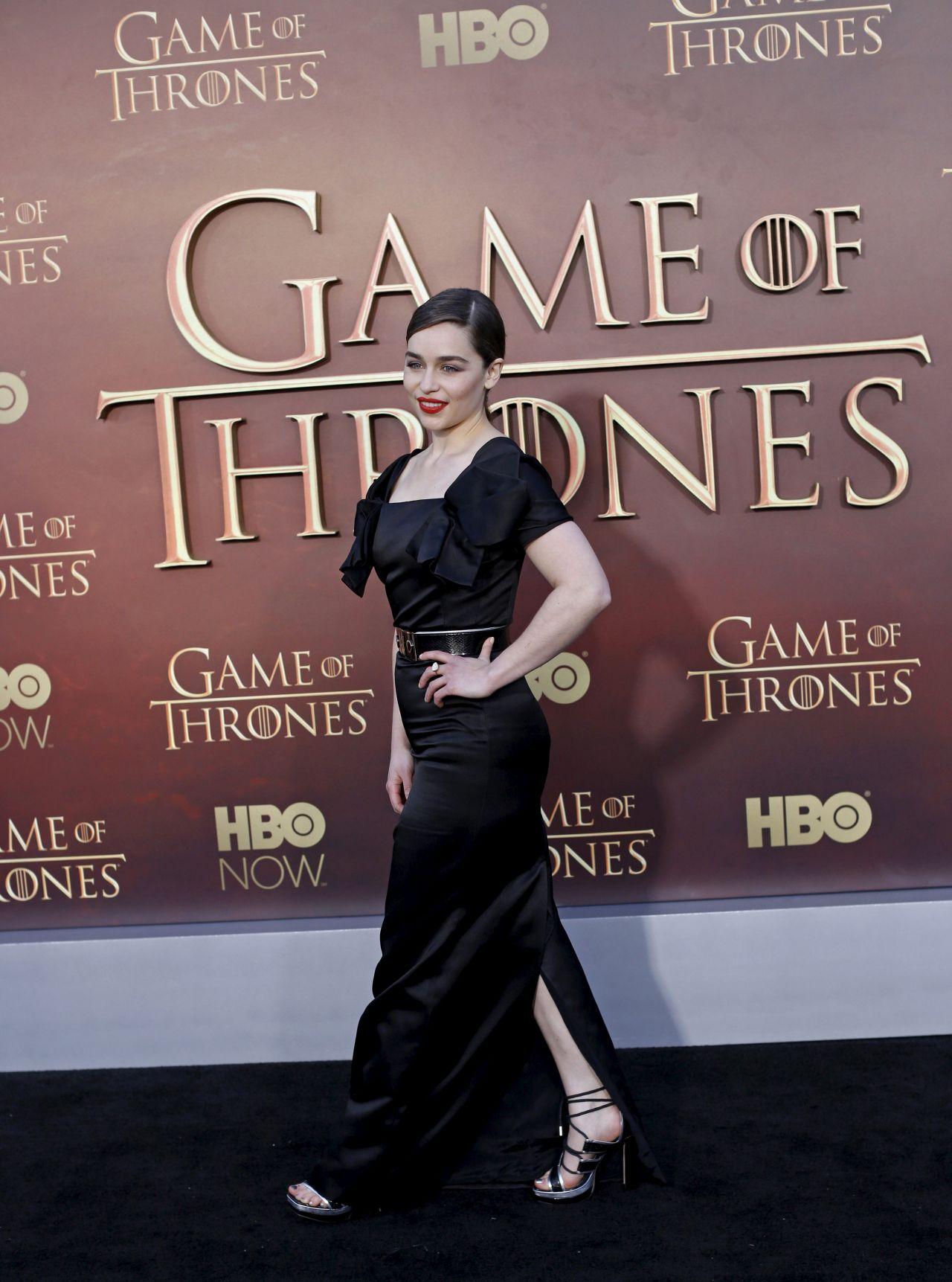 Game Of Thrones Season 5 Premiere In San