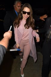 Emilia Clarke - LAX Airport in Los Angeles, March 2015