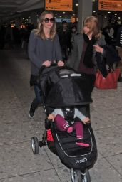 Emily Blunt - Heathrow airport in London - March 2015