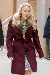 Emily Osment Casual Style - Out in NYC, March 2015