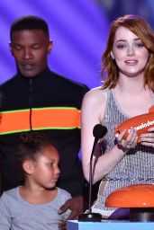 Emma Stone – 2015 Nickelodeon Kids Choice Awards in Inglewood