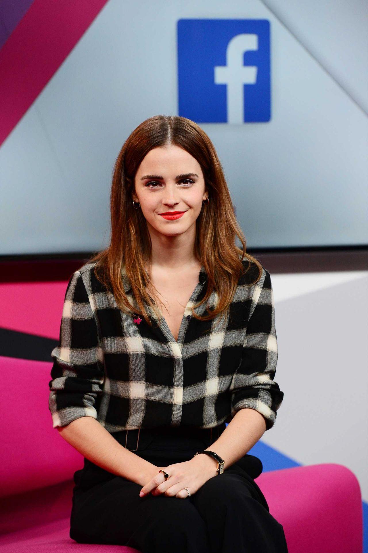 Emma Watson – HeForShe Facebook Q&A in London, March 2015