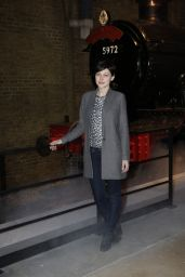 Emma Willis - Original Hogwarts Express & Platform Warner Bros. Studio Tour in London