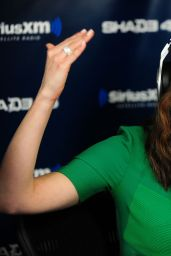 Emmy Rossum - at SiriusXM Studios in New York City, March 2015