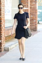 Emmy Rossum Casual Style - Out in Beverly Hills, March 2015