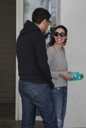 Emmy Rossum in Jeans - Out in Beverly Hills, March 2015