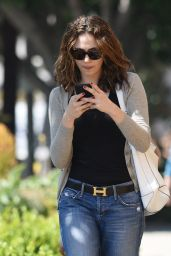 Emmy Rossum - Out in West hollywood, March 2015