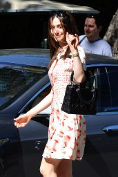 Emmy Rossum Style - Beverly Hills, March 2015