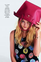 Enikő Mihalik - Elle Magazine (France) March 2015 Issue