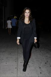 Eva Longoria - Leaving A Concert In Los Angeles, March 2015