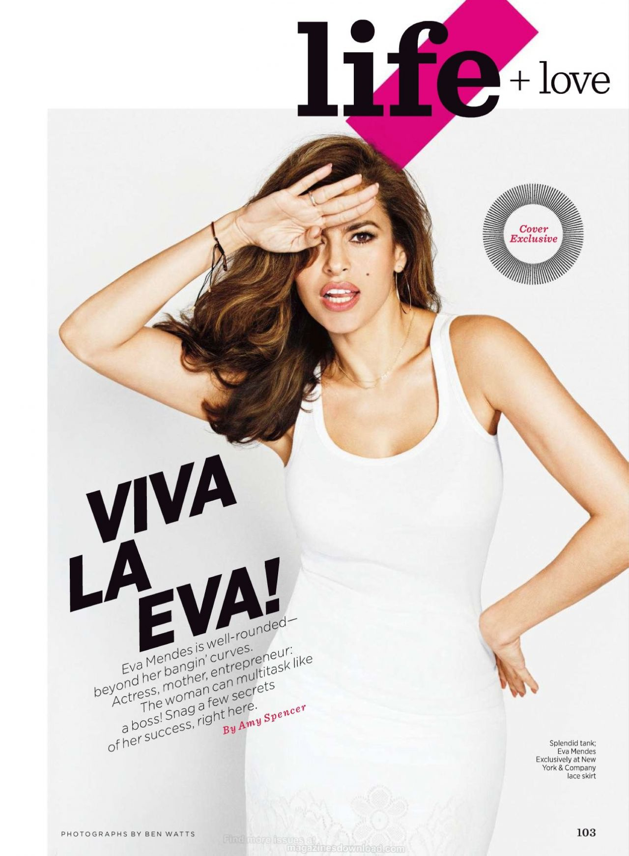 photo Eva mendes shape magazine malaysia may 2019 issue