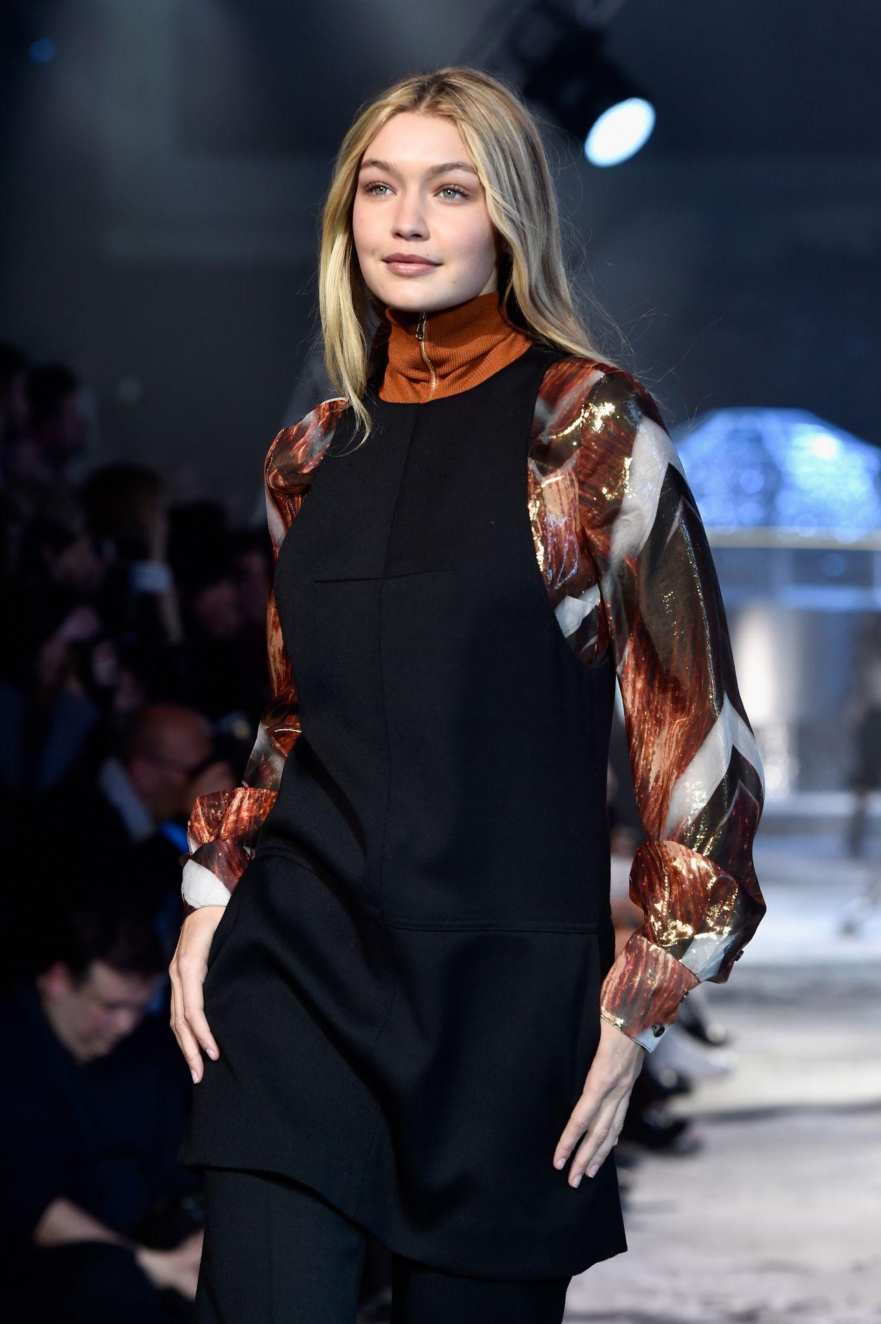Gigi Hadid - H&M Fashion Show in Paris, March 2015