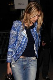 Gigi Hadid - Leaving H&M Fashion Show in Paris, March 2015
