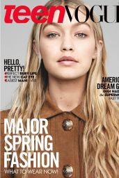 Gigi Hadid - Teen Vogue Magazine (US) March 2015 Cover