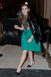 Hailee Steinfeld Style - Dior After Party at Les Bains Douches in Paris, March 2015