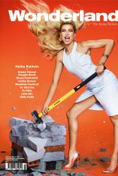 Hailey Baldwin - Wonderland Magazine February/March 2015 Cover and Photos