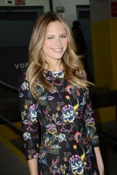 Halston Sage - Leaving HuffPost Live Studios in New York, MArch 2015