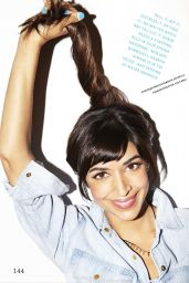Hannah Simone - Cosmopolitan Magazine (US) April 2015 Issue