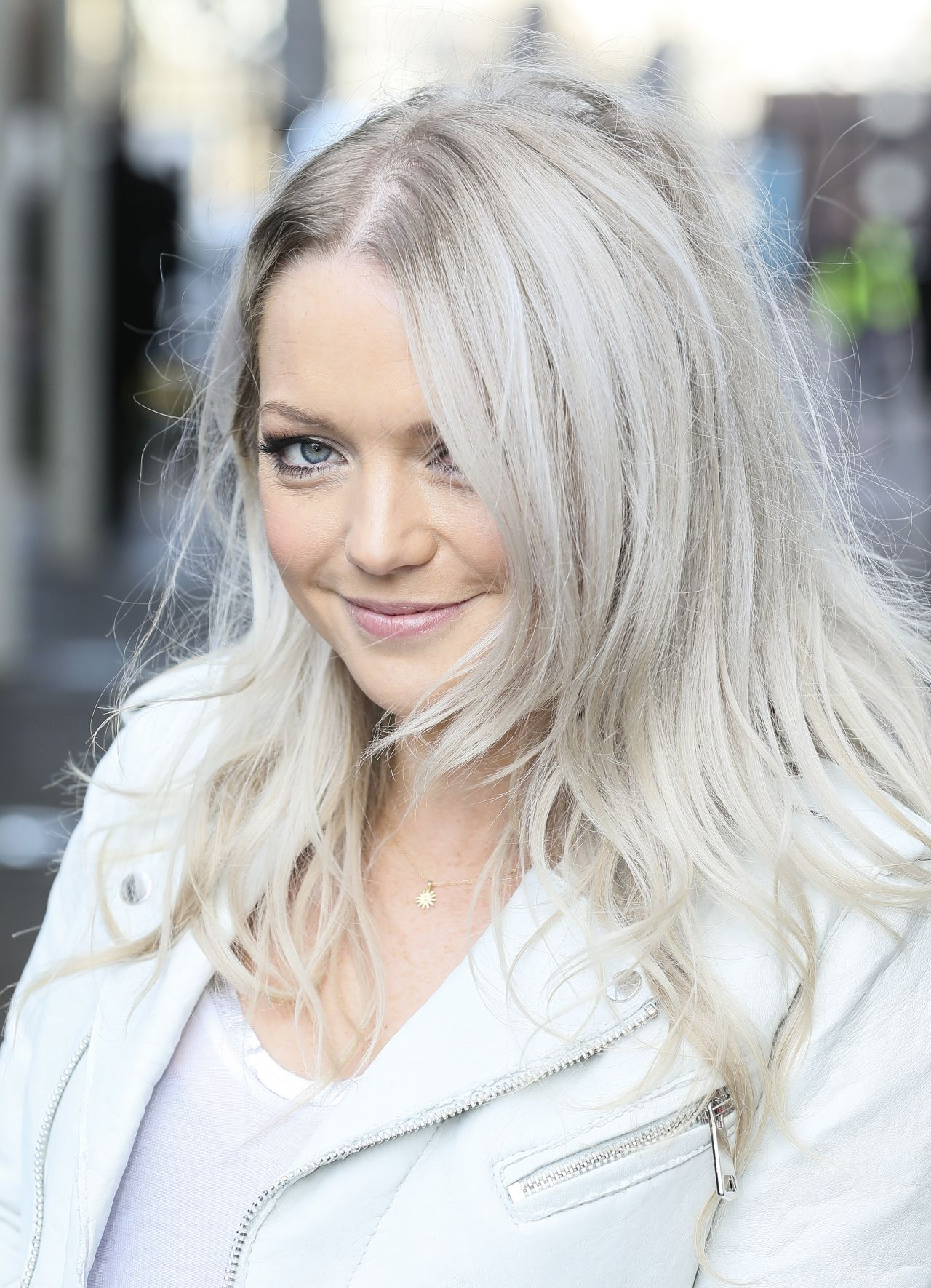 Hannah Spearritt Casual Style - Leaving the ITV Studios in ...