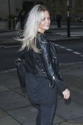 Hannah Spearritt Street Style - Amour Play London, March 2015
