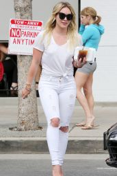 Hilary Duff Booty in Jeans - Out in Studio City - March 2015