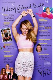 Hilary Duff  - Cosmopolitan Magazine April 2015 Issue