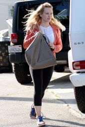 Hilary Duff - Going to a Gym in West Hollywood, March 2015