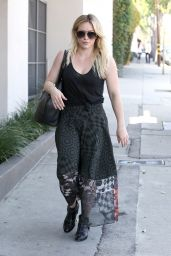 Hilary Duff - Leaving the Gym in Beverly Hills, March 2015