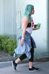 Hilary Duff - Leaving the Gym in West Hollywood, March 2015