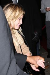 Hilary Duff Night Out Style - Leaving Warwick Night Club in LA, March 2015
