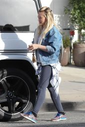 Hilary Duff - Out in West Hollywood, March 2015