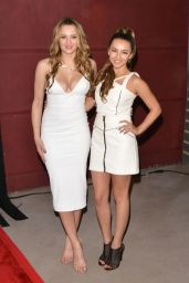 Hunter King - A Girl Like Her Premiere in Hollywood