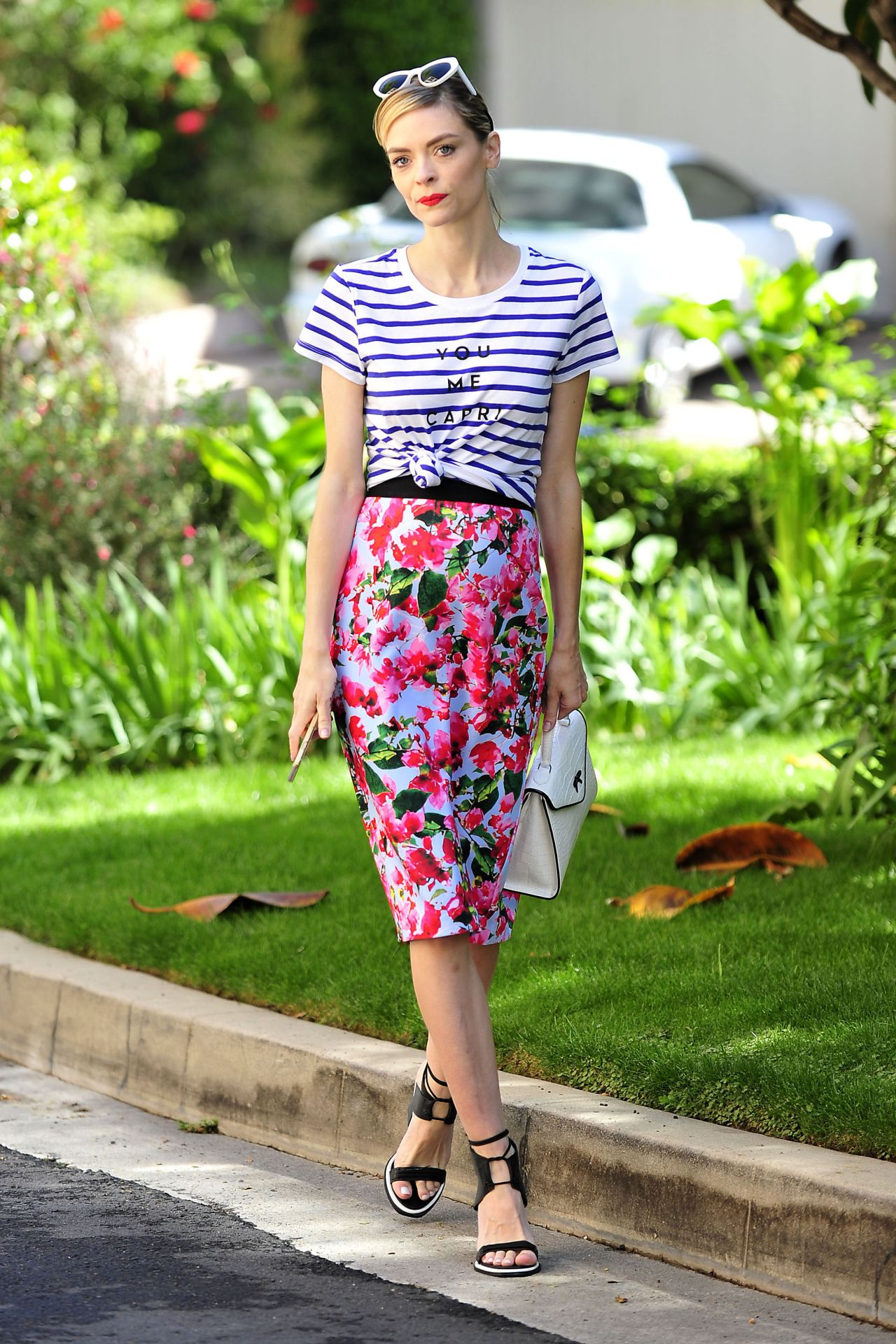 Jaime King - Candid Photoshoot in Los Angeles, Spring 2015