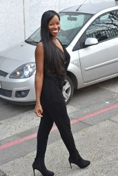 Jamelia Style - Outside the London Studios - March 2015