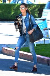 Jamie Chung in Jeans - Out in Los Angeles, March 2015