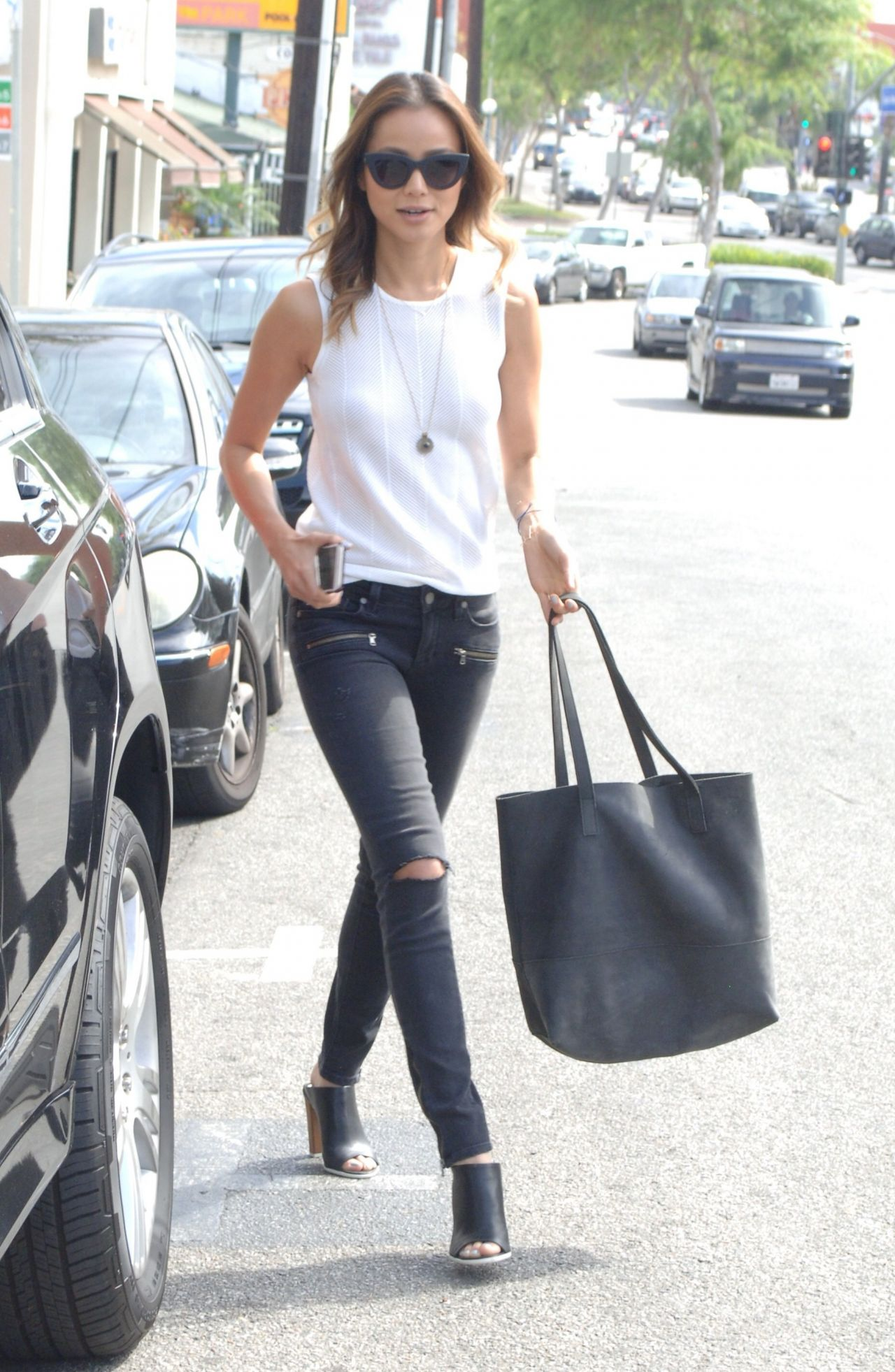 Jamie Chung - Out in West Hollywood, March 2015