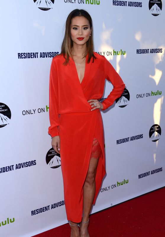 Jamie Chung - Resident Advisors Premiere in Los Angeles